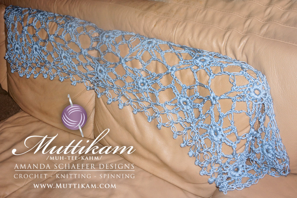River Lily Shawl by Amanda Schaefer